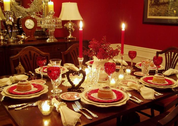 Сервировка праздничного стола: основные правила