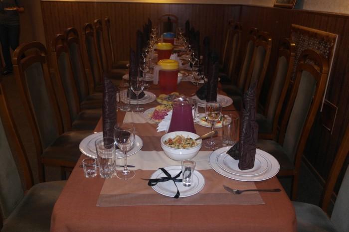 Поминальный стол: меню, сервировка, этикет