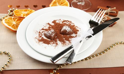 Сервировка десертного стола