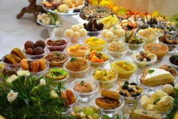 Вегетарианский праздничный стол