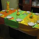 Cервировка детского стола на день рождения